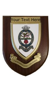 1st Princess of Wales Regiment Personalised Military Wall Plaque